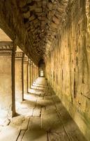Ta Prohm temple corridor, Angkor, Siem Reap, Cambodia