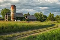 Old abandoned farm, New York, USA