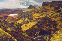 Highland landscape, Trotternish, Scotland