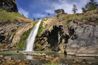 Aik Kalak waterfall, Lombok, Indonesia