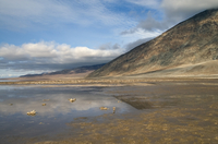 Landscape of Mojave Desert, Badwater, Death Valley National Park, California, USA