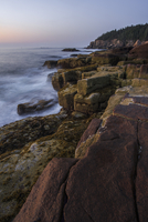 Acadia Otter Cliffs at Twilight