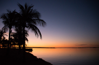 Sunset Island of Sun