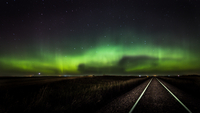 Saskatchewan Aurora and Rails