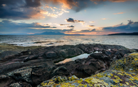 Sunset #2 - Portencross, Ayrshire.