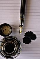 Ink Pen & Paper