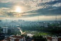 Sun dawn Bangkok