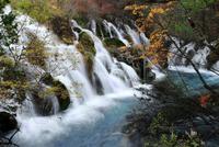 A small waterfall in Jiuzhai