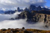 Berge in Watte