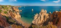 Praia Do Camilo in Algarve Portugal
