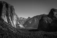 Yosemite a la Ansel Adams