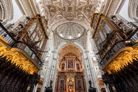 Dueling Pipe Organs, Cordoba Spain