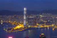 West Kowloon Cultural District at night