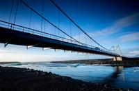 Under the bridge and into the sea
