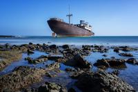 Shipwrecked.