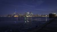 Toronto Skyline Before Sunrise