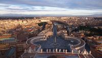Rome. Sunset