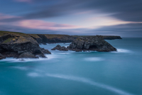 Last lights on Belle-Ile-en-Mer coast