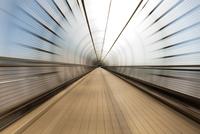 Background of modern tunnel
