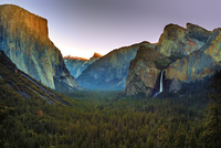 Tunnel View of Yosemite Valley, California, USA