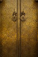 Bronze door, Fez, Morocco