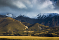 Landscape of Castle Hill Conservation Area, Canterbury, New Zealand