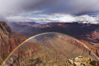 Rainbow at Grand Canyon National Park, Arizona, USA