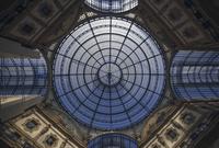 Dome of Galleria Vittorio Emanuele II, Milan, Italy
