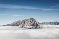 Cascade Mountain peak, Alberta, Canada
