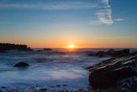 Seascape at sunrise, Bonavista, Newfoundland, Canada