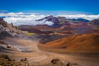 Haleakala Crater, Maui, Hawaii, USA