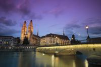 Moody sky over Zurich, Switzerland