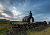 Budir black church, Iceland