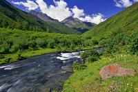 Mountain river, Sichuan, China