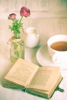 Summer Tea-drinking - 2 11098073988| 写真素材・ストックフォト・画像・イラスト素材|アマナイメージズ