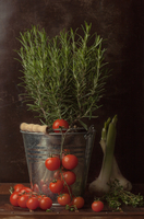 Rosemary and tomatoes