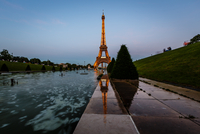 Eiffel Tower and