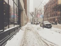 Overnight snowstorm