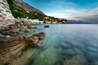 Rocky Beach in Croatia