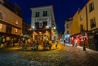 Cafe on Montmartre, Paris