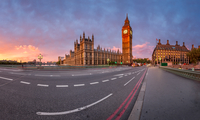 Panorama of Westminster Palace