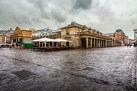 Covent Garden on Rainy Day