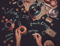 String Theory (Endless Book) 11098074681| 写真素材・ストックフォト・画像・イラスト素材|アマナイメージズ