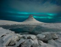 Kirkjufell in winter