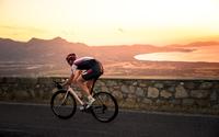 Sunset Road Biking in Corsica, France