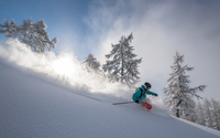 Deep Powder Skiing
