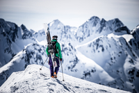 Backcountry Skiing Warrior