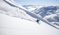 Powder Skiing in the Alps