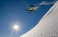 Freestyle Ski Jump 11098075129| 写真素材・ストックフォト・画像・イラスト素材|アマナイメージズ
