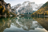 Lago di Braies in the Dolomites